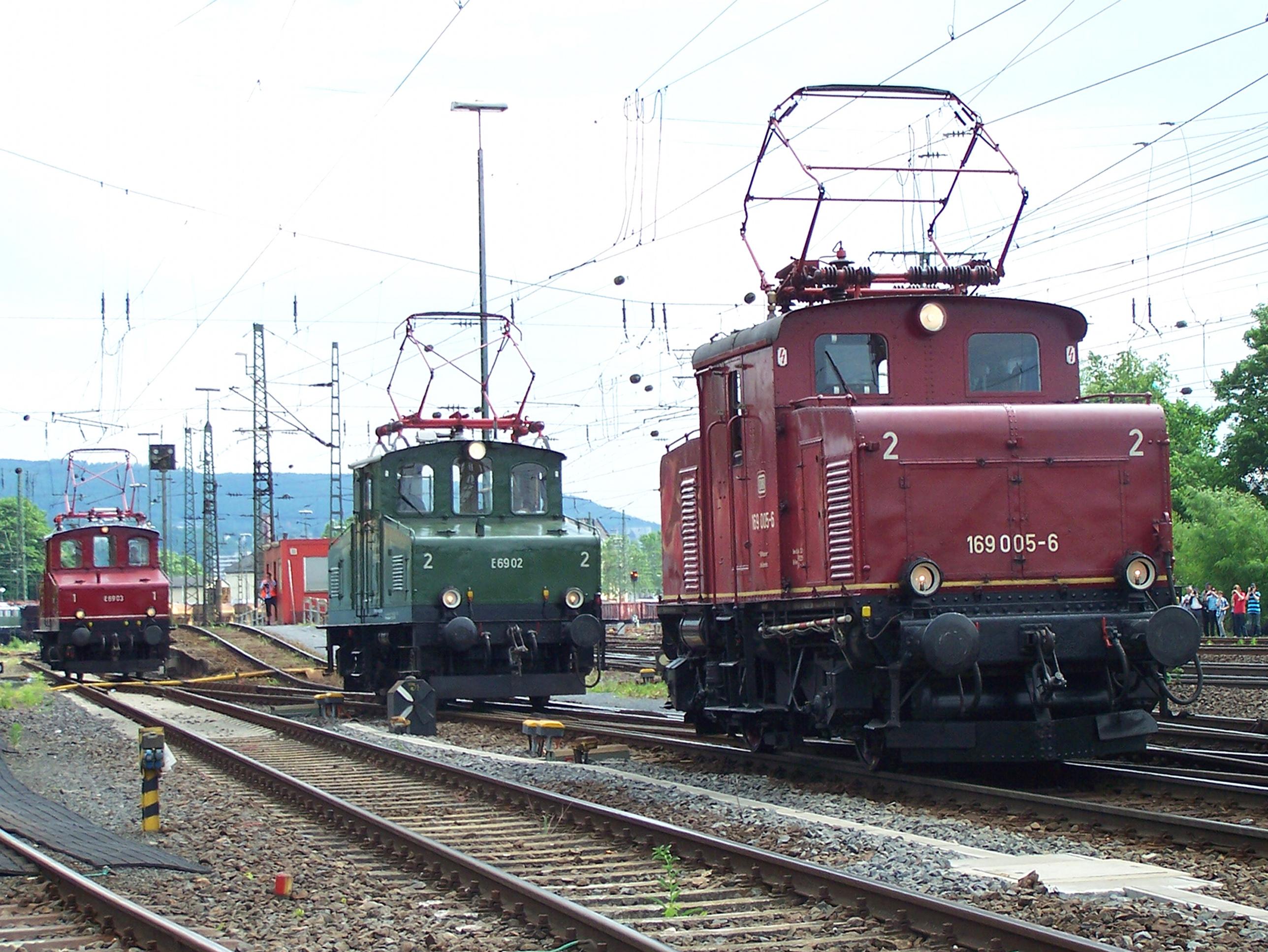 E69 02, 03 ja 05, Koblenz-Lützel 2.6.2012. Kuva: Urmelbeauftragter/Wikimedia Commons. CC-BY-SA 3.0