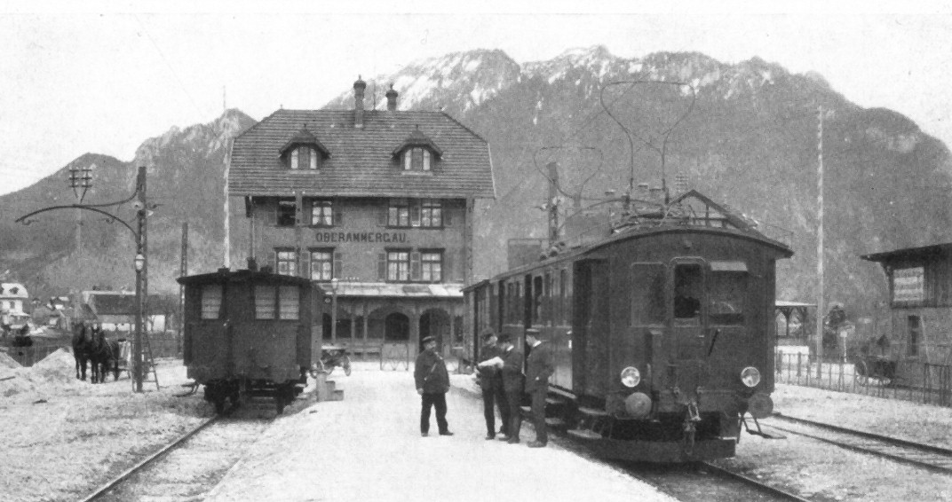 LAG:n moottorivaunu Oberammergaussa vuonna 1905.