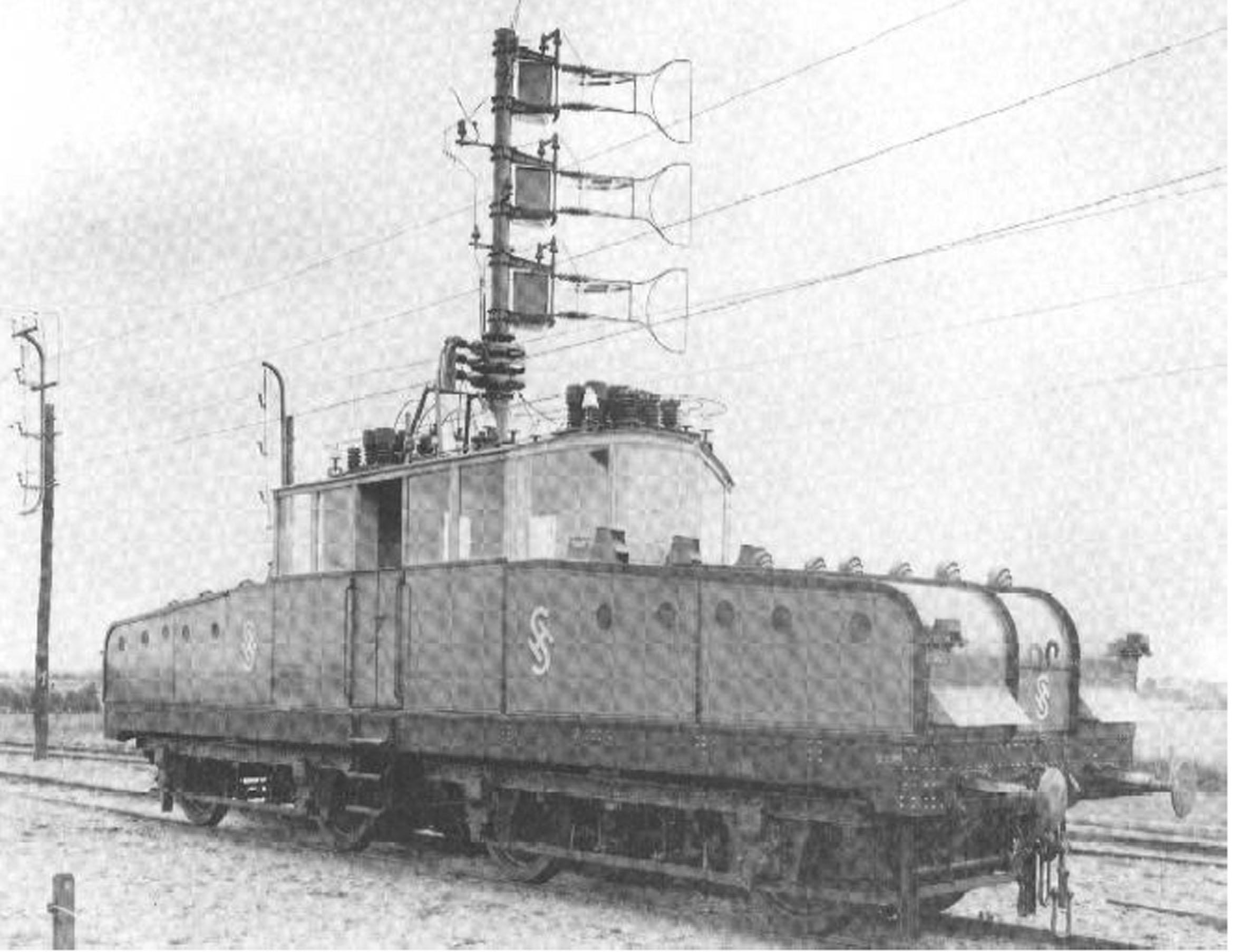 Siemens & Halsken koeveturi vuodelta 1902.