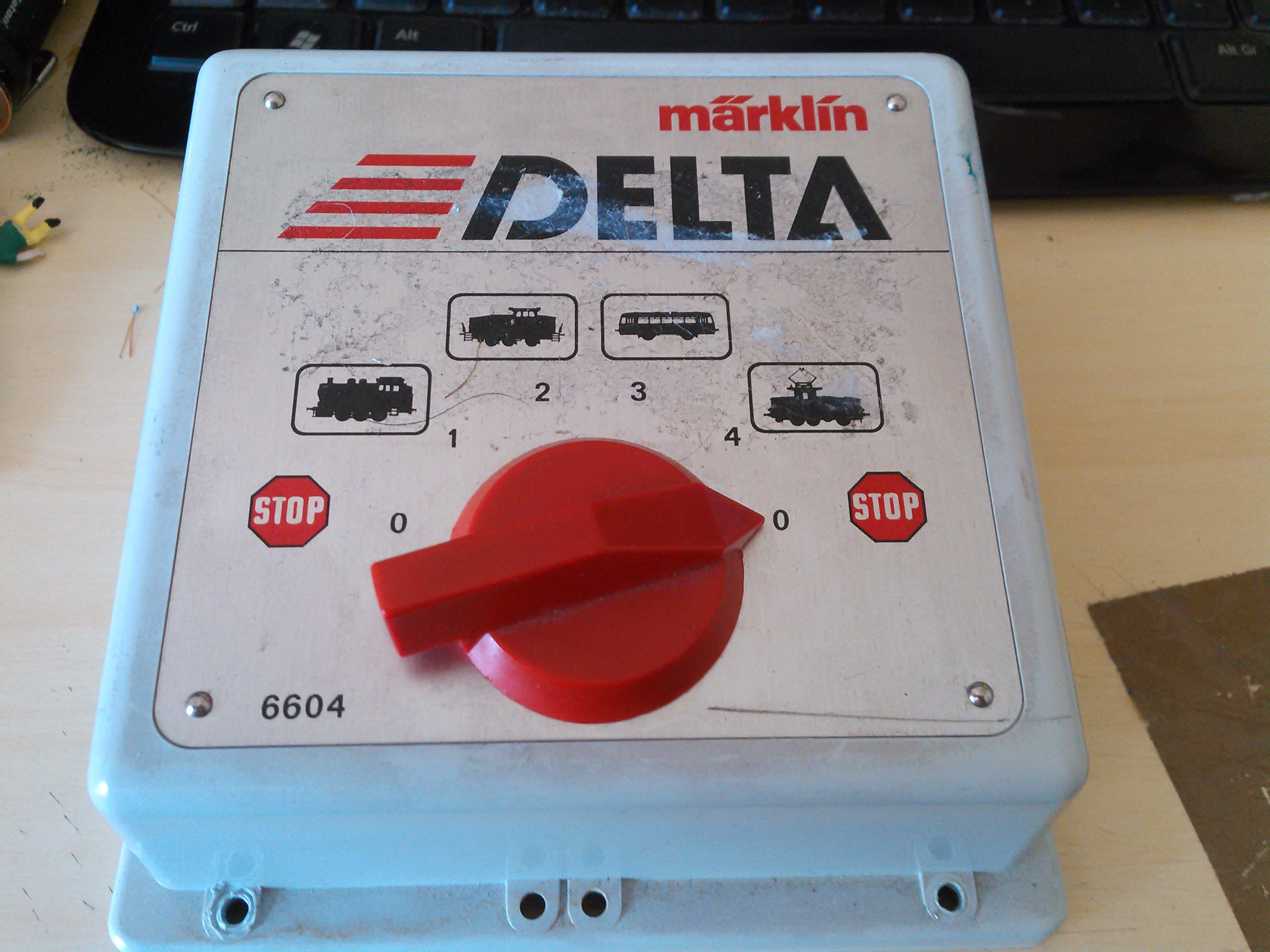 Delta-keskusyksikkö